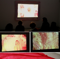 Esra Canoguilari, final work for Craft and Feminist Methods, California College of Art, 2012.