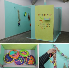Zena Segre, final work for Craft and Feminist Methods, California College of Art, 2012.